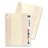 """End Tab Converters - x 0.75"""" Tab Width - Self-adhesive - Manila - 200 / Box"""