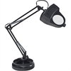 Ledu Magnifier Lamp - 15 W Bulb - Desk Mountable - Black