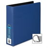 "Wilson Jones Single Touch Locking D-Ring Binder - 2"" Binder Capacity - Letter - 8 1/2"" x 11"" Sheet Size - 565 Sheet Capacity - 3 x D-Ring Fastener(s) - 2 Inside Front & Back Pocket(s) - Vinyl - Blue -"