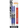 Sarasa Gel Pen - Medium Point Type - 0.7 mm Point Size - Refillable - Blue Pigment-based Ink - Translucent Barrel - 2 / Pack