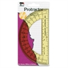 "CLI 6"" Open Center Protractor - Plastic - Assorted"