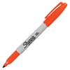 Sharpie Pen-style Permanent Marker - Fine Point Type - Orange Alcohol Based Ink - 1 Each