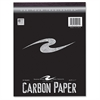 "Roaring Spring Carbon Paper Tablet - 8.50"" x 11"" - 1 / Each - Black"