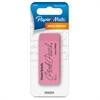 Pink Pearl Large Eraser - Lead Pencil Eraser - Smudge-free, Soft, Tear Resistant, Pliable - Rubber - 1/Pack - Pink