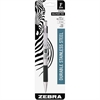 Zebra Pen F-301 Ballpoint Pen - Fine Point Type - 0.7 mm Point Size - Refillable - Assorted - Stainless Steel Barrel - 1 / Pack