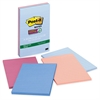 "Post-it Super Sticky Recycled Notes, 4 in x 6 in, Bali Color Collection, Lined - 180 - 4"" x 6"" - Rectangle - 45 Sheets per Pad - Ruled - Assorted - Paper - Self-adhesive - 4 Pad"