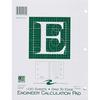 "Roaring Spring Engineer Calculation Pads - 100 Sheets - Printed - Letter 8.50"" x 11"" - Green Paper - 1Each"