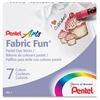 Pentel Arts Fabric Fun Pastel Dye Sticks - Assorted - 7 / Set