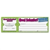 "Scholastic Good Behavior! Ticket Award - 8.50"" x 2.75"" - White100 / Pack"