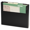 "MMF Steelmaster Add-On Wall File - 10.3"" Height x 12.3"" Width x 1.4"" Depth - Wall Mountable - Recycled - Black - Steel - 1Each"