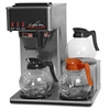 Coffee Pro Low Profile Commercial Pour-Over Brewer - Stainless Steel - Stainless Steel