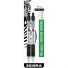 Z-Grip Max Ballpoint Pen - Medium Point Type - 1 mm Point Size - Black - Clear Barrel - 1 / Pack