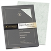 "Southworth Colors + Textures P874CK Parchment Paper - Letter - 8.50"" x 11"" - 24 lb Basis Weight - Parchment - 100 / Pack - Celery"