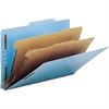 """Smead 100% Recycled Pressboard Colored Classification Folders - Legal - 8 1/2"""" x 14"""" Sheet Size - 2"""" Expansion - 4 Fastener(s) - 1"""" Fastener Capacity, 2"""" Fastener Capacity - 2/5 Tab Cut - Right of Cen"""