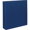 "Avery Durable Binders with EZD Rings - 2"" Binder Capacity - Letter - 8 1/2"" x 11"" Sheet Size - 540 Sheet Capacity - 3 x D-Ring Fastener(s) - 4 Internal Pocket(s) - Poly - Blue - Recycled - 1 Each"