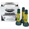 Crayola Washable Glue Sticks - 0.290 oz - 12 / Box - Blue