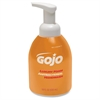 Gojo Luxury Foam Antibacterial Handwash - Orange Blossom Scent - 18.1 fl oz (535 mL) - Pump Bottle Dispenser - Kill Germs - Hand - Amber - Anti-bacterial, Triclosan-free - 1 Each