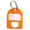 CARL Color-coded Labeling Key Tags - 1 / Pack - Plastic - Yellow