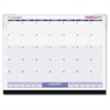 "At-A-Glance Look Forward Desk Pad Calendar - Julian - Monthly - 1 Year - January 2017 till December 2017 - 1 Month Single Page Layout - 22"" x 17"" - Desk Pad - Paper, Vinyl - Perforated"