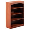 "Brighton BTB4S36 Bookcase - 36"" Width x 15"" Depth x 50.5"" Height - Cherry"