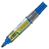 BeGreen VBoard Master Med. Bullet Marker - Medium Point Type - Bullet Point Style - Refillable - Blue - 1 Each