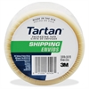 "Tartan General Purpose Packaging Tape - 1.89"" Width x 54.68 yd Length - 3"" Core - Rubber Resin - 1.90 mil - Rubber Resin Backing - 1 Roll - Clear"