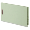 "End Tab Pressboard Fastener Folders - 2"" Folder Capacity - Legal - 8 1/2"" x 14"" Sheet Size - 1"" Expansion - 2"" Fastener Capacity for Folder - 3/4 Tab Cut - End Tab Location - 25 pt. Folder T"