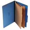 "Standard 6-sectn Color Classifctn Folders - Legal - 8 1/2"" x 14 1/64"" Sheet Size - 2 1/4"" Expansion - 6 Fastener(s) - 1"" Fastener Capacity for Divider, 2"" Fastener Capacity for Folder - 2/5 T"