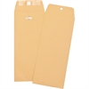 "Business Source Heavy-duty Clasp Envelopes - Clasp - #14 - 5"" Width x 11.50"" Length - 28 lb - Clasp - Kraft - 100 / Box - Brown Kraft"