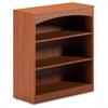 "Mayline Brighton BTB3S36 Bookcase - 36"" Width x 15"" Depth x 39.5"" Height - Wood - Cherry, Laminate"