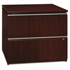 "Bush Business Furniture Milano2 36W 2 Drawer Lateral File - 35.8"" x 23.4"" x 29.6"" - 2 - Finish: Harvest Cherry"