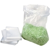 "HSM Shredder Bags - fits 108, B24, AF150, AF300 Models - 13 gal - 14"" Height x 8"" Width x 32"" Depth - 100/Carton - Clear"