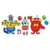 "Furry Friends Birthday Fun Bulletin Board Set - 17.50"" Height x 25.50"" Width - Assorted - 1 / Set"