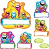 "Frog-tastic Jump-Starters Bulletin Board Set - 17.50"" Height - Assorted - 39 / Set"