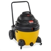 Shop-Vac 962-39-10 Canister Vacuum Cleaner - 1.86 kW Motor - 280 W Air Watts - 16 gal - 748.1 gal/min - 9 A - Yellow, Black