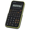 "EL501X Scientific Calculator - Protective Hard Shell Cover, Automatic Power Down, Large Display - Battery Powered - 3.3"" x 6"" x 0.5"" x 9"" - Black, Green - 1 Each"