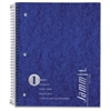 "TOPS Jammit Pocket Wirebound Notebooks - 100 Sheets - Wire Bound - Letter 8.50"" x 11"" - White Paper - Pressboard Cover - Pocket, Perforated - 1Each"
