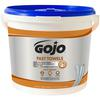 "Gojo FAST Towels - 9"" x 10"" - White - Non-irritating, Pre-moistened, Disposable - For Hand - 225 / Each"