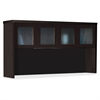 "Mayline Aberdeen AHG72 Hutch - 39.1"" x 72"" x 15"" - 4 x Door(s) - Durable - Mocha - Assembly Required"