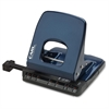 "Colorful 2-Hole Punches - 2 Punch Head(s) - 32 Sheet Capacity - 1/4"" Punch Size - Blue"