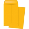 "Little Coin Kraft Envelope - Coin - #4 - 3"" Width x 4.50"" Length - 24 lb - Gummed - Kraft - 500 / Box - Brown Kraft"