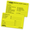 Tabbies Emergency Information Cards - 25 / Pack