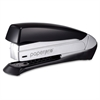 "inSPIRE+ 20 Premium Desktop Stapler - 20 Sheets Capacity - 210 Staple Capacity - Full Strip - 1/4"" Staple Size - Black, Silver"