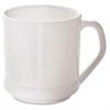NatureHouse Savannah Supplies Coffee Mug - 10 fl oz - 1 Each - White - Polylactic Acid (PLA) - Coffee, Hot Drink, Beverage