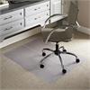 "ES Robbins Everlife Low-pile Carpet Multipurp. Mat - Carpeted Floor - 48"" Length x 36"" Width - Vinyl - Clear"