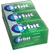 Orbit Flavia Sugar-free Gum - Spearmint - Sugar-free, Individually Wrapped - 12 / Box