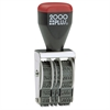 "Cosco 4-band Date Stamp - Message/Date Stamp - ""A.M., P.M., ANS'D, PAID, ENT'D, REC'D"" - 4 BandsSteel Frame - 1 Each"