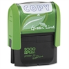 "Consolidated Stamp Cosco Green Line COPY Self-inking Stamp - Message Stamp - ""COPY"" - 5000 Impression(s) - Blue - Recycled - 1 Each"
