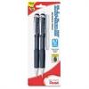 Pentel Twist-Erase III Mechanical Pencils - HB Lead Degree (Hardness) - Refillable - Black Lead - Assorted Barrel - 2 / Pack