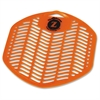 Impact Products Z-Screen Citrus Deodorizing Urinal Screen - Citrus - Lasts upto 30 Day - Deodorizer, Flexible, VOC-free - 12 / Box - Orange